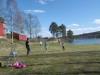Härlig forbollsmatch