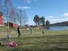 Härlig fotbollsmatch