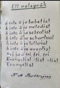 Valspråk av Boltzius